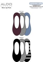 F14 Aldo mens 3pr peds v1 (boodiba) Tags: sockdesign hosierydesign surfacedesign target adobeillustrator photoshop graphicdesign