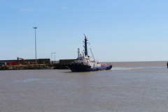 EMS Boxer - Lowestoft 17-08-2018.1 (routemaster2217) Tags: lowestoft ship shipping sea ocean dock docks quay water vessel boat tug tugboat easternmarineservices emsboxer