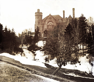 Castle in the Snow -- about 1900