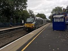 Chiltern 68 011 @Warwick (Kris Davies (megara_rp)) Tags: warwick warwickshire railway stations trains