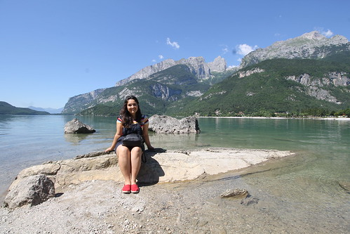 """Molveno Lake • <a style=""""font-size:0.8em;"""" href=""""http://www.flickr.com/photos/104879414@N07/44744827451/"""" target=""""_blank"""">View on Flickr</a>"""