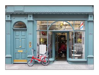 Bow Glass Shop Windows, West London, England.
