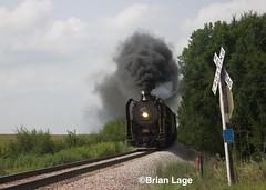 IAIS 6988 (eslade4) Tags: iais iowainterstaterailroad iais6988 steam iais703 gp382 mitchellville fundraiser passengercars 2102