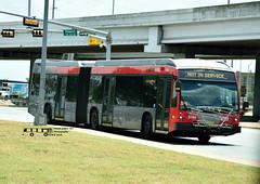 5106 Not in Service (transit addict 327) Tags: capitalmetro cmta austin texas nikon d5300 55300mmlens 2018 bus novabus lfxartic metrorapid brt busrapidtransit articulated northlamartransitcenter