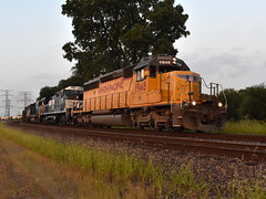 A great leader (Robby Gragg) Tags: up sd40n 1948 des plaines