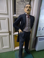 The Lloyd George Memorial Museum - dummy of David Lloyd George (ell brown) Tags: thelloydgeorgememorialmuseum llanystumdwy llŷnpeninsula gwynedd wales unitedkingdom greatbritain davidlloydgeorge britishprimeminister lloydgeorgemuseum gwyneddcouncil amgueddfalloydgeorgemuseum amgueddfalloydgeorge sculpture figure dummy mannequin