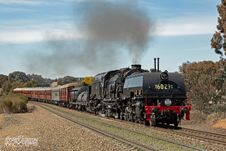 6029 Garratt with the Cruise Express Southern Rail Spectacular from Goulburn to Junee.