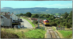 Chasing Welsh Coal (Welsh Gold) Tags: db tug 60015 6o08 swansea burrows onllwyn loaded coal train seven sisters dulaisvalley southwales