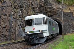 Re 620 003 Railadventure / Wassen (Dario Häusermann) Tags: railadventure re 620 re620 chradve railadventureerscheinungsbild re66 swiss schweiz bellinzona basel gotthard wassen göschenen deutschland traffic verkehr spezial tunnel regen dario häusermann