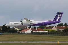 G-JECP DHC8-402 Dash 8 on 11 September 2018 Jersey (Jersey Aviation Images 2018) Tags: aircraft airplane aeroplanes aeroplane aircraftspotters aviation planes flyingmachines