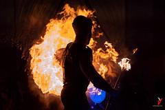 Phiros, Dios del Fuego. (Carlos Velayos) Tags: nocturna nightly fuego fire fiesta festival noche night jornadas medievales jornadasmedievales avila jornadasmedievalesavila