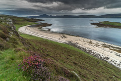 'Coral Bay' - Claigan, Isle of Skye (Kristofer Williams) Tags: claigancoralbeach isleofskye scotland sky grass beach coast landscape heather