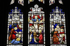Stained Glass in St Hydroc church Cornwall - 260418 (11) (Ann Collier Wildlife & General Photographer) Tags: stainedglasswindows churches churchwindows sthydrocchurch church churcheschapels religion cornwall