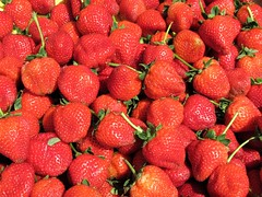 strawberries (kenjet) Tags: fruit red berry berries strawberry strawberries