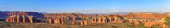 The Cathedrals, Capitol Reef national Park, Utah (Bob Palin) Tags: usa utah capitolreef nationalpark cathedralvalley sandstone landscape outdoor cathedrals orig:file=201809189200stitch