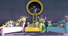Monster Party... (poppydouglas) Tags: sammichfixens jooleeteedezigns ayashi bebe toddledoo thimble theplayroom halfdeer boogers cmyk bowillow
