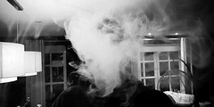 20180922_235833-3 (Sebastiaan9977) Tags: clouds smoke black white person weekend indie hipster house room friends drink fade samsung photo canon vanish