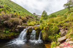 Tri Falls (SileeSoft) Tags: stream waterfall landscape heather brook fairbrook peakdistrict