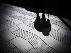 shadowplay (Sandy...J) Tags: olympus fotografie photography street streetphotography sw schwarzweis strasenfotografie stadt shadow light licht lines linien monochrom man mono mann city urban noir blackwhite bw black white mood stimmung