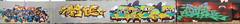 Watels (baos) / Abus (mercs) / Saner (riper) / Bouh (SaNeR hVa KgB) Tags: aerosol art abus bouh slone watels baos tag terrain typo mur couleur bombe colors couleurs ptdq painting peinture paris lettrage letters lettres lettering kgb hva handstyle graff graffiti france fat fatcap fluo saner spot writer writing wall wildstyle can bande cv finalflash