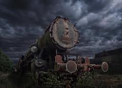Rostlok (david_drei) Tags: lok lowkey decay abandoned stahl rost urbex