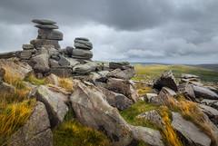 After The Rain (Rich Walker75) Tags: dartmoor devon greatbritain tor rock rocks sky cloud rain weather grass quarry landscape landscapephotography landscapes canon efs1585mmisusm england eos eos80d
