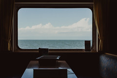 the view    l  2018 (weddelbrooklyn) Tags: hamburgerfotofreaks fenster fähre aussicht wasser meer nordsee norderney kabine sommer nikon d5200 35mm urlaub window ferry view water ocean northsea cabin summer holiday