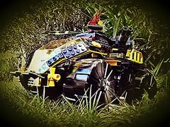 Blacktron one magnitizer designation 001 hunter killer scout (MadMikesMocs) Tags: lego legospace legomoc legoblacktron afol blacktroni space legolife