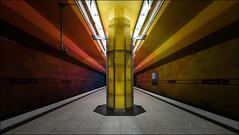 U1 - Candidplatz - München (antonkimpfbeck) Tags: architektur art munich ubahn candidplatz