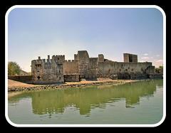 Smederevo, Medieval Fortress, view from Danube River (Superoperater hero) Tags: 2012 berbagrozdja daniberbe predstava putovanja smederevo smederevskajesen smederevskatvrdjava srbija tvrdjava vasar