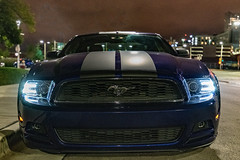 2014 Ford Mustang (Sharky.pics) Tags: 2018 night unitedstatesofamerica urban unitedstates fordmustang musclecar nikond850 wisconsin august city 2014fordmustang milwaukee nightscape usa mustang us