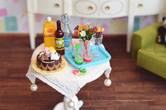 Wanna join us? (Moonrabbit_ly) Tags: teaware rement rements miniature roombox diorama doll dollhouse