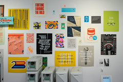 Analog Lab Pop Up Salon Wall (scottboms) Tags: analogresearchlab sanfrancisco sf popup posters silkscreen risograph california