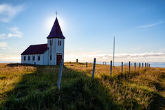 256:365 - A Backlit Church (LostOne1000) Tags: hellnar pentax2470f28edsdm 130918 cy365 pentaxlenses time weather september locations backlit iceland 3652018 365the2018edition pentax morning sunny sun equipment camera technicalphotography snæfellsnes day256365 pentaxk1 365challenge photography snæfellsbær westernregion is