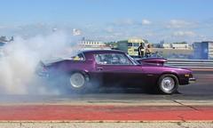 Camaro (chearn73) Tags: smoke burnout staging dragracing dragster classiccar camaro musclecar racing gimli manitoba canada