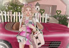 Addicted to Pink #2 (Gabriella Marshdevil ~ Trying to catch up!) Tags: sl secondlife cute kawaii doll sintiklia bento girlpower catwa mudskin sorumin