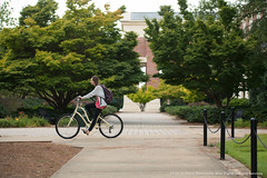 Week in Photos - 006 (Ole Miss - University of Mississippi) Tags: 2018 skb3425 libary bicycle bike transportation green arch