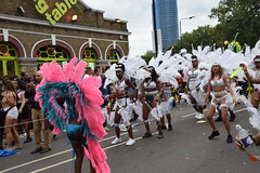 DSC_8172 (photographer695) Tags: notting hill caribbean carnival london exotic colourful costume girls dancing showgirl performers aug 27 2018 stunning ladies