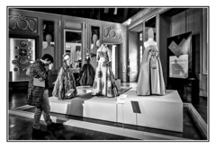"Mode - expo "" Que je t'aime ! "" (thierrybalint) Tags: mode exposition châteauborély marseille nikon nikoniste hautecouture couture castle fashion sewing exposure musée museum personne people"
