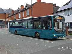 TM Travel 613 Chesterfield (Guy Arab UF) Tags: tm travel 613 fj03vwb scania l94ub wright solar bus park road chesterfield derbyshire wellglade buses wellgladegroup trent barton