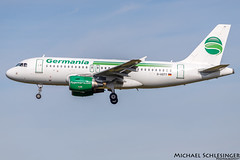 D-ASTY - Airbus A319-112 - Germania (MikeSierraPhotography) Tags: a319 air airbus airlines airport cgn cgneddk cologne country deutschland flughafen flugzeug germania germany köln manufacturer plane spotting town