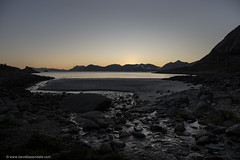 Dusk in the Lofoten Islands (www.davidbaxendale.com) Tags: dusk sunset lofoten islands norway magic hour beach landscape