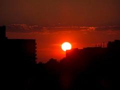 New York Sunset (dimaruss34) Tags: newyork brooklyn dmitriyfomenko image nightsky clouds sunset sun