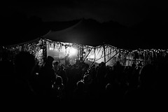 Night music (PhredKH) Tags: 50mm afterdark canoneos5dmkiii canonphotography ef50mmf18stm festivals fredkh greenman musicfestival nightphotography nightscene photosbyphredkh phredkh splendid ukfestivals wales outdoor outdoorphotography people concert