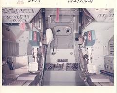 2tv1_v_c_o_AKP (707-17, F-503-02) (apollo_4ever) Tags: removebeforeflight maindisplayconsole armrest crewcouch dsky sextant pgncs primaryguidancenavigationandcontrolsystem commandmodule nasaspacecraft nasa apollocommandmodule humanspaceflight mannedspaceflight joekerwin joeengle vancebrand spacecraftcockpit spacecraftinterior vacuumchamber apollospacecapsule spacecapsule apollospacecraft projectapollo apolloprogram apollospaceprogram 2tv1