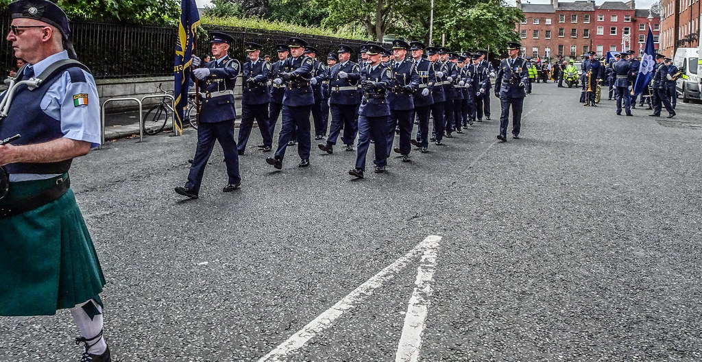 NATIONAL SERVICES DAY [PARADE STARTED OFF FROM NORTH PARNELL SQUARE]-143670