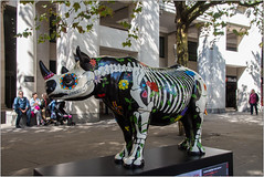 """Rhino Eterno"" (Mabacam) Tags: 2018 london tusk thetuskrhinotrail rhino rhinoceros conservation sculpture artinstallation charity chriswestbrook paternosterrow davidmach horns animal"