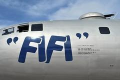 FIFI's tattoo (yyzgvi) Tags: nx529b boeing b29a superfortress commemorative air force cyhm yhm hamilton ontario fifi