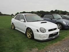 Subaru Impreza WRX STi X351GWH (Andrew 2.8i) Tags: haynes motor museum breakfast meet sparkford yeovil somerset show classic classics cars car autos rally sports sportscar 4wd turbo japanese saloon sti st wrx impreza subaru