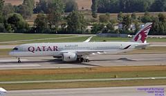 A7-ALA LSZH 03-08-2018 (Burmarrad (Mark) Camenzuli Thank you for the 13.7) Tags: airline qatar airways aircraft airbus a350941 registration a7ala cn 006 lszh 03082018